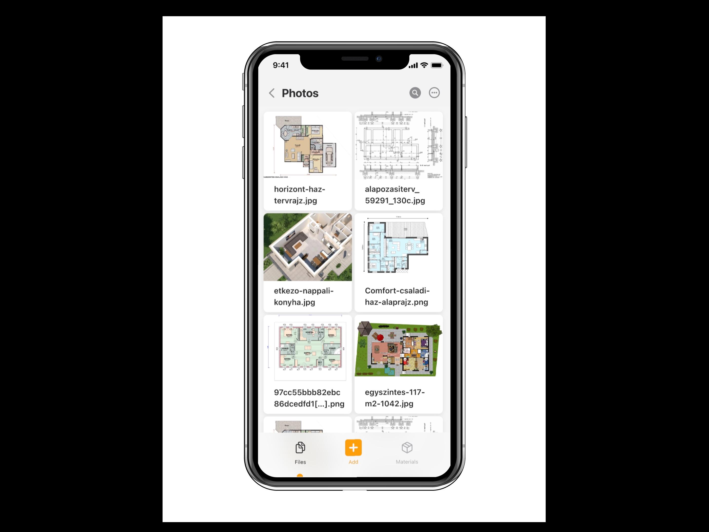 projekt menedzsment szoftver fájlok tárolása Iphone telefonon