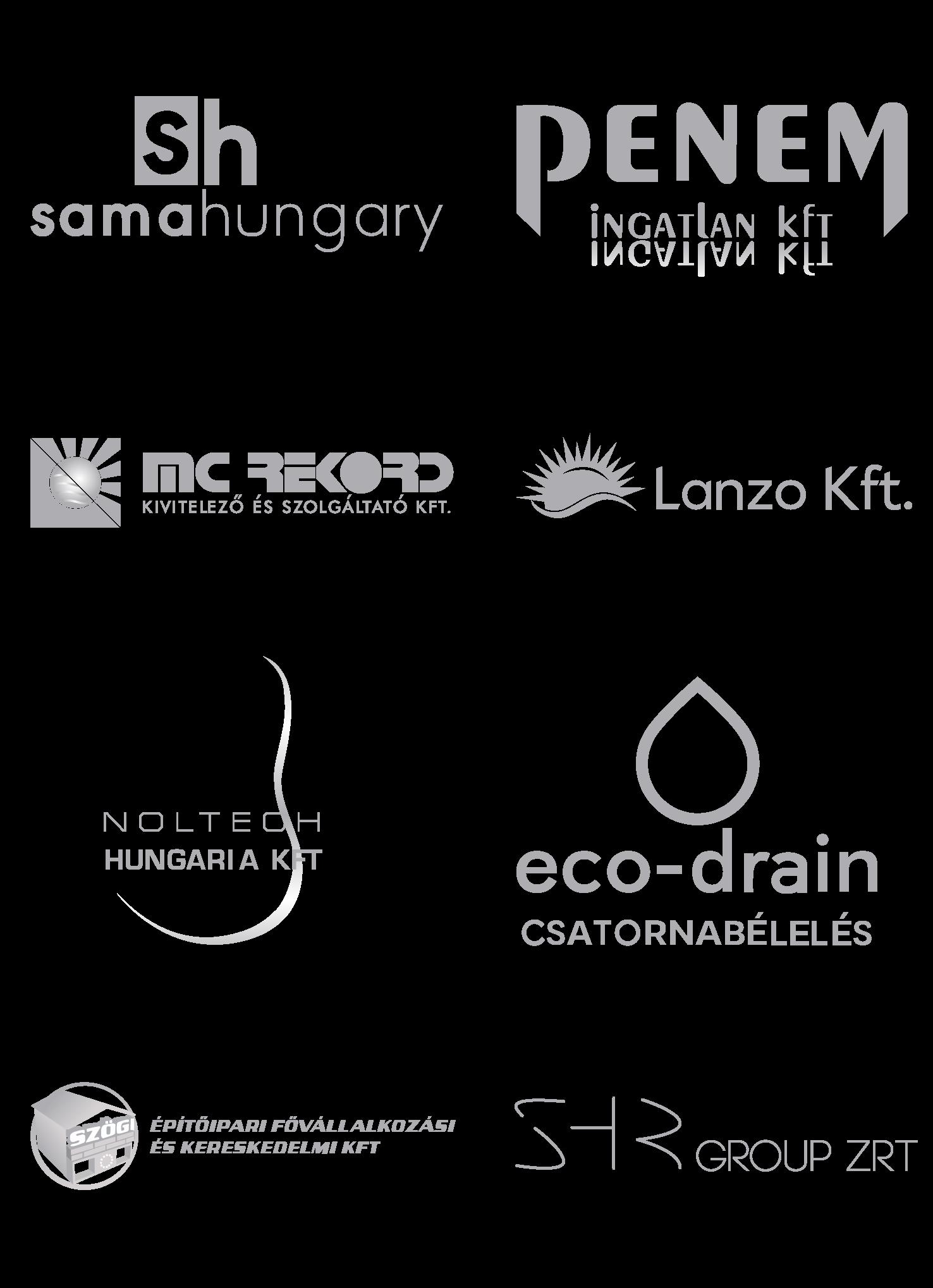 költségkövetés partnerek logói